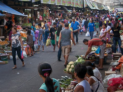 The public market, Olongapo