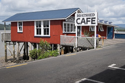 Boatshed Cafe at Rawene, 2016